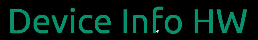 Device Info HW Database